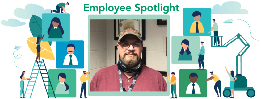 December 2020 Employee Spotlight: Cory Martin, label converting supervisor