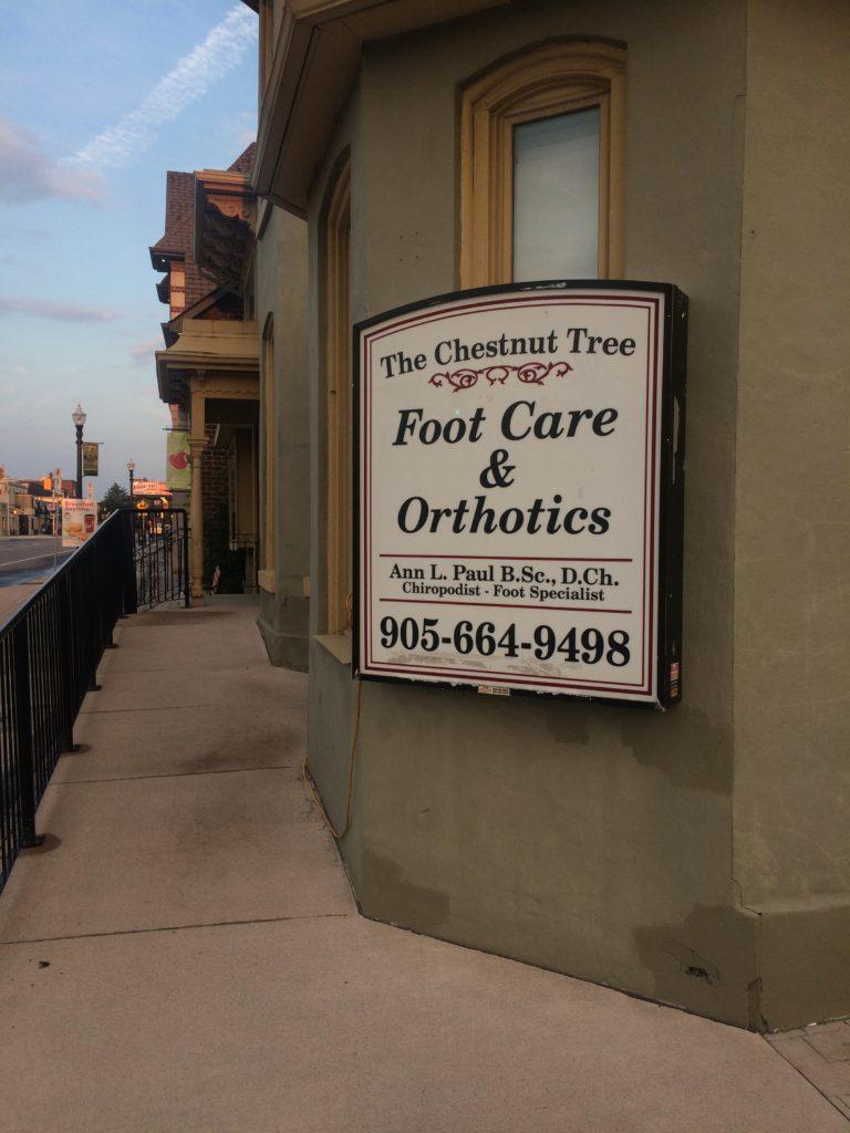 Chestnut Tree Foot Care and Orthotics