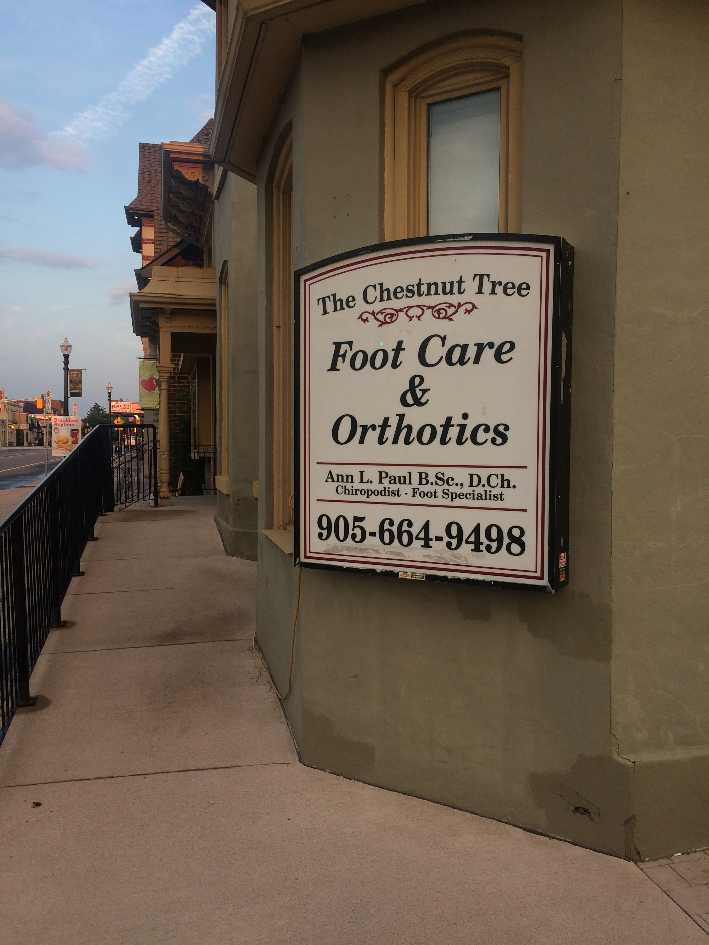 Chestnut Tree Foot Care and Orthotics