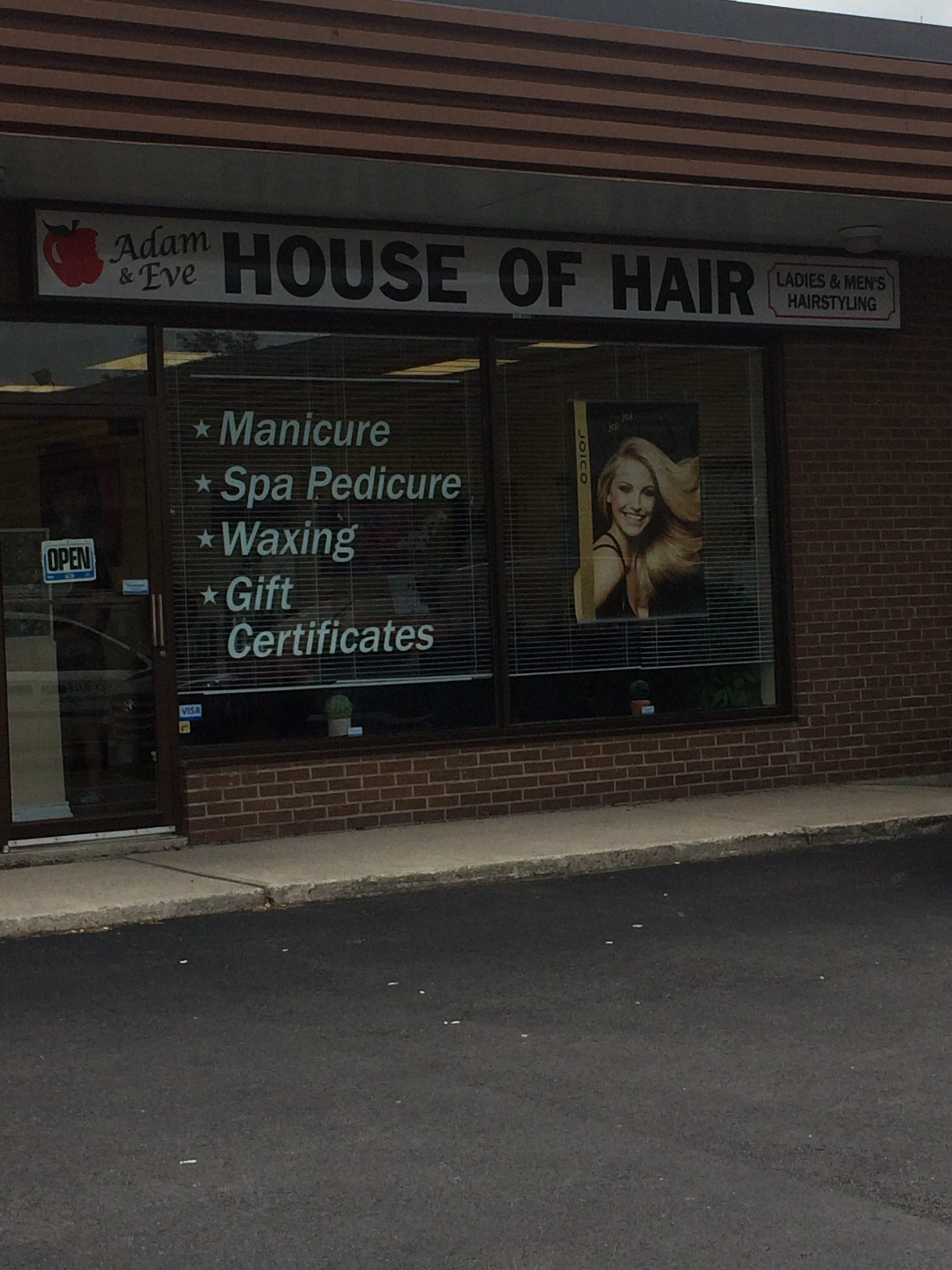 Adam & Eve House of Hair