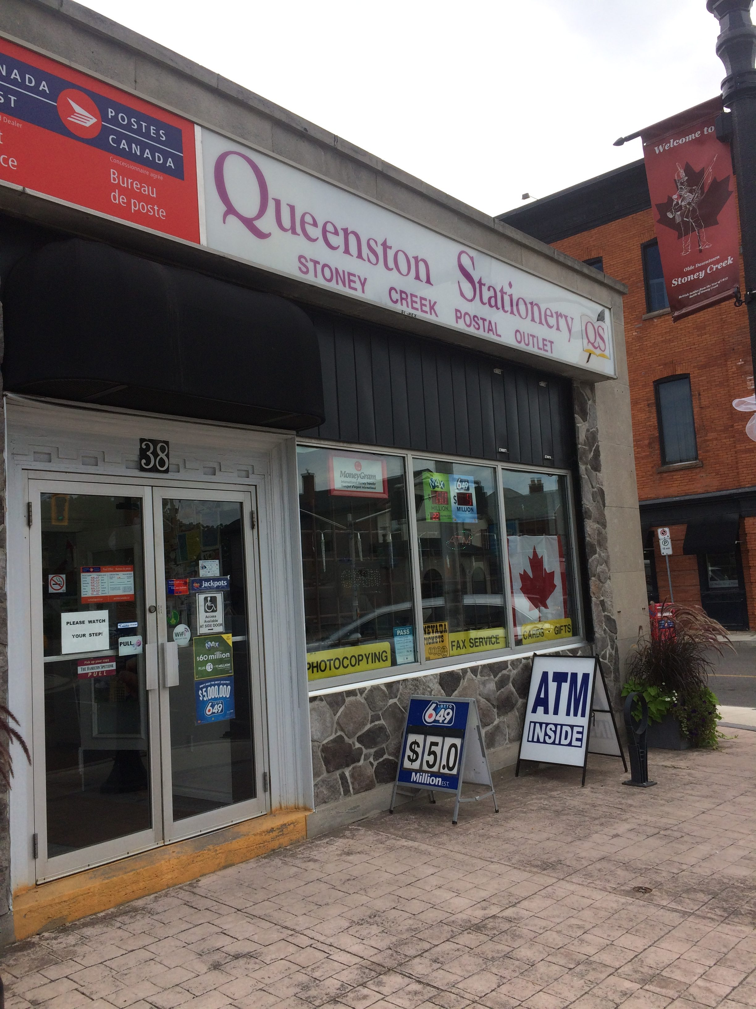 Queenston Stationary Postal Outlet