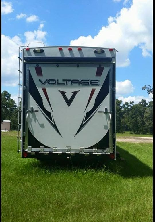 2012 Voltage Toy Hauler