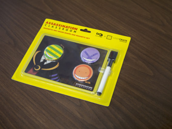 Assassination Classroom Magnetic Dry Erase Board and Magnets Set