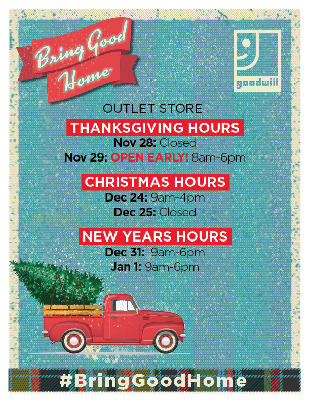 outlet holiday hours