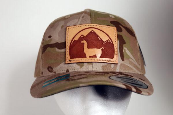 Multicam Arid Llama Patch Hat
