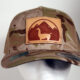 Multicam Arid Llama Patch Hat