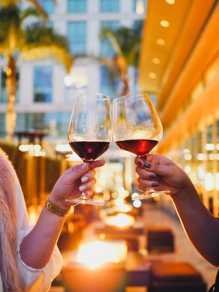 Wine pairing - Kathryn Kennedy Estate Cabernet Sauvignon