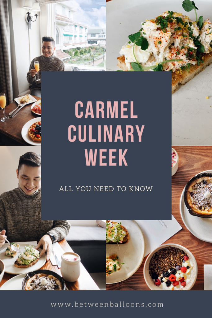 Carmel Culinary Week. All you need to know.
