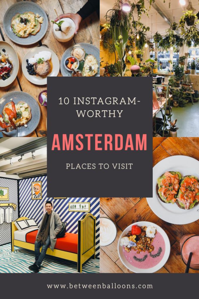 10 Instagram-worthy spots in Amsterdam.