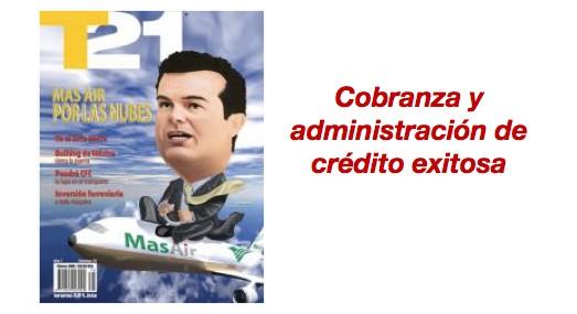 Cobranza y administración de crédito exitosa