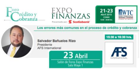 AFS International en EXPO Finanzas 2015