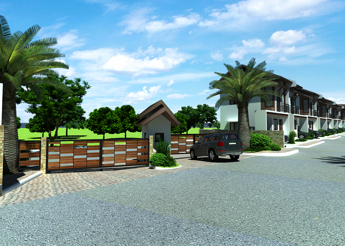 serenis Guardhouse rear view
