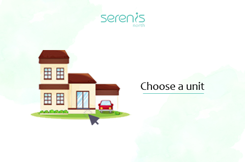 Choose your desired unit/s from the inventory or site development plan.