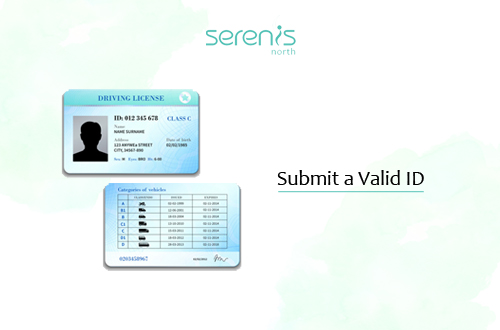 Submit a Valid ID