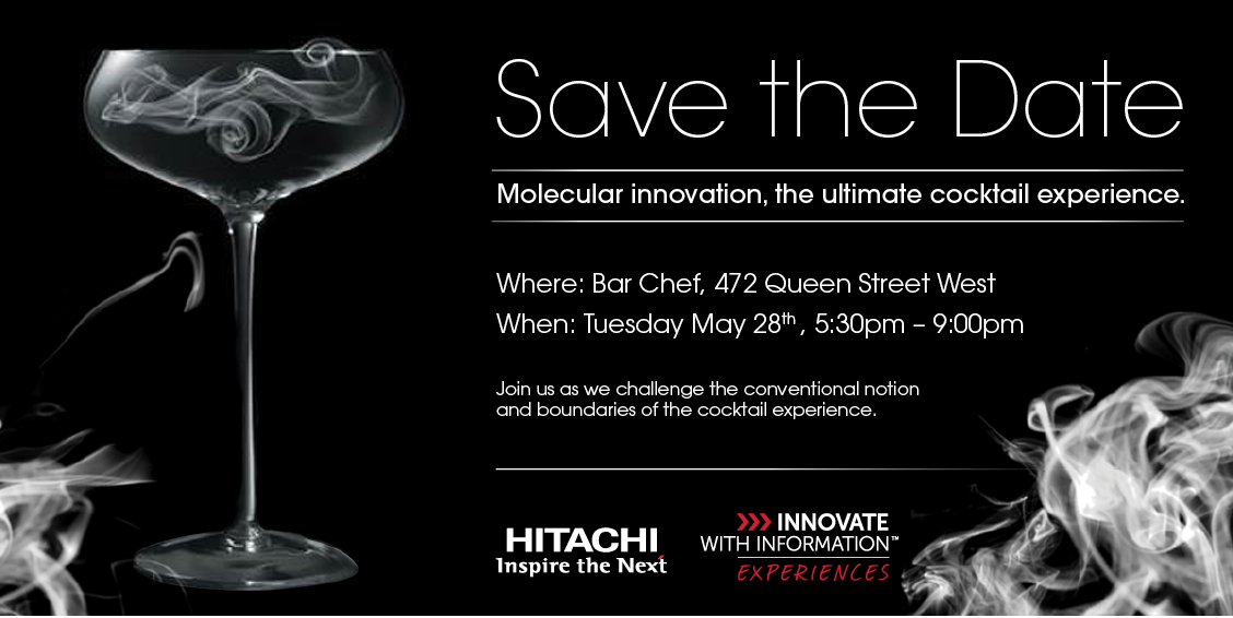 Save the Date —Hitachi Data Systems