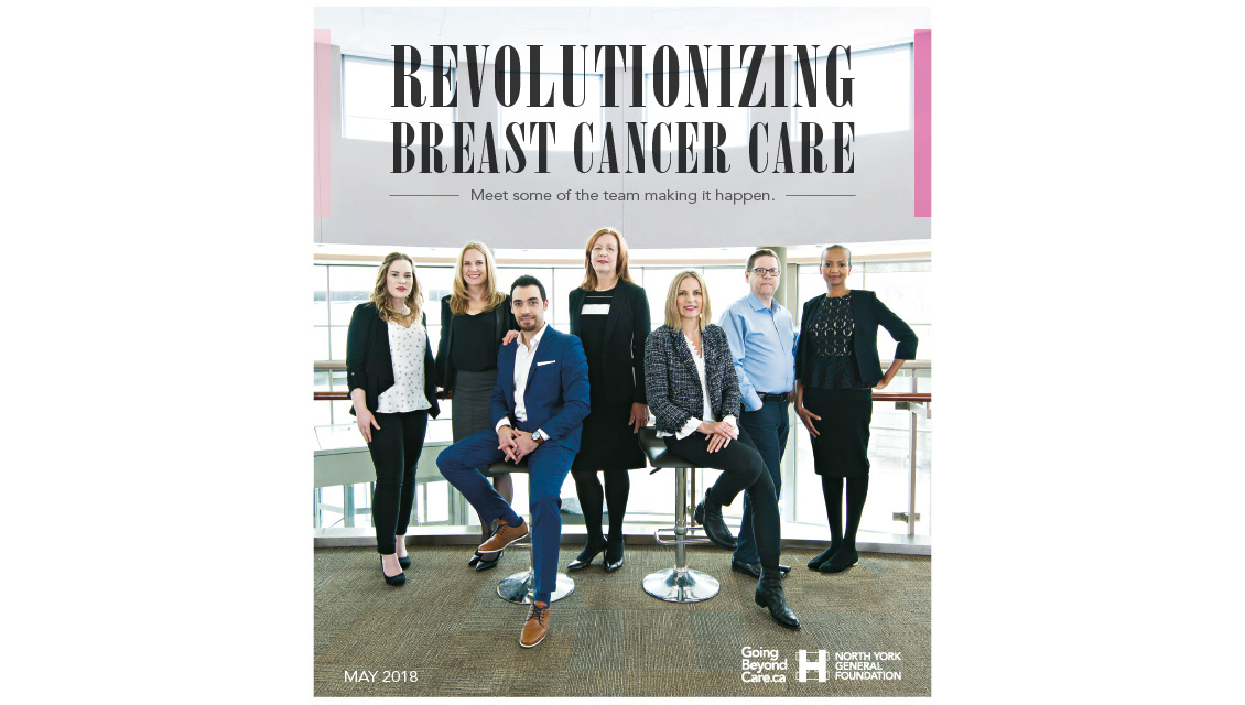 Revolutionizing Breast Care — North York General Foundation