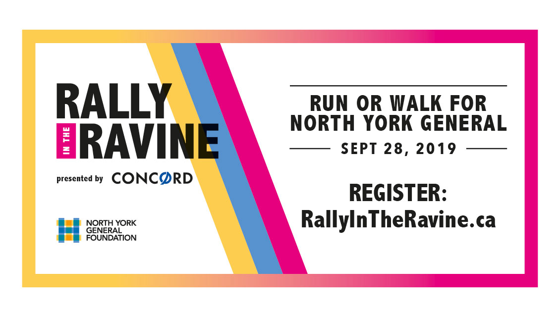 Billboard — Rally in the Ravine — North York General Foundation