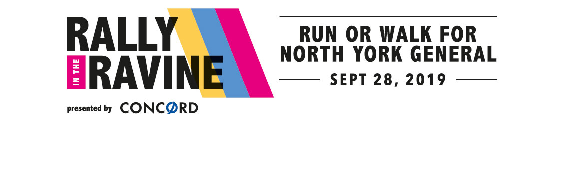 Logo Design — Rally in the Ravine — North York General Foundation