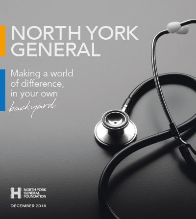 Report to the Community 2018 — North York General Foundation
