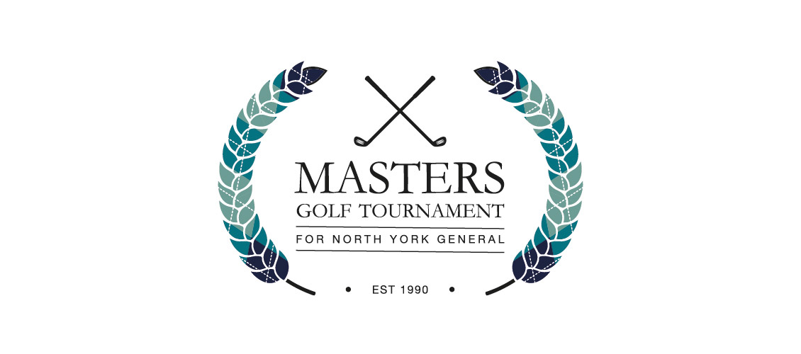 Masters Golf Tournament for North York General Logo