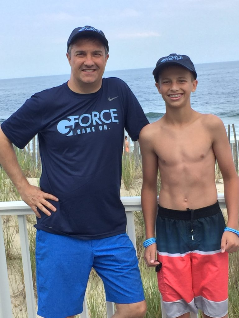 John & Cody at the Jersey Shore