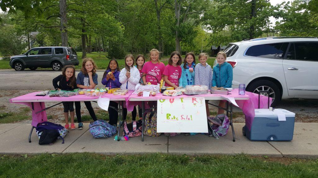 Girls on the Run Bake Sale Helps GForce