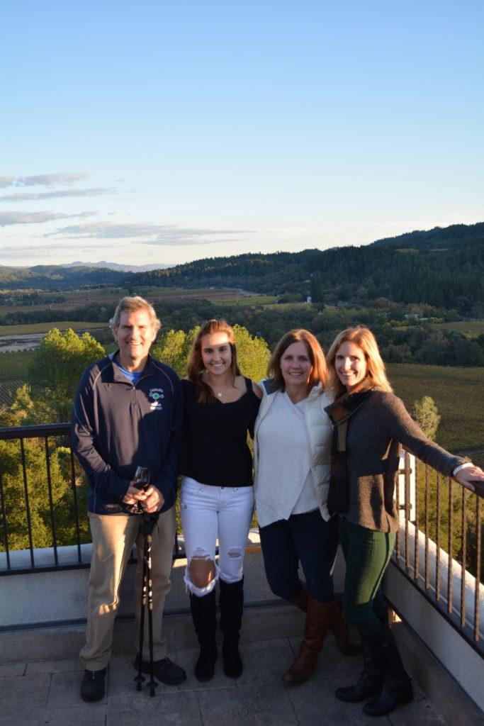 Views of the vineyards all around