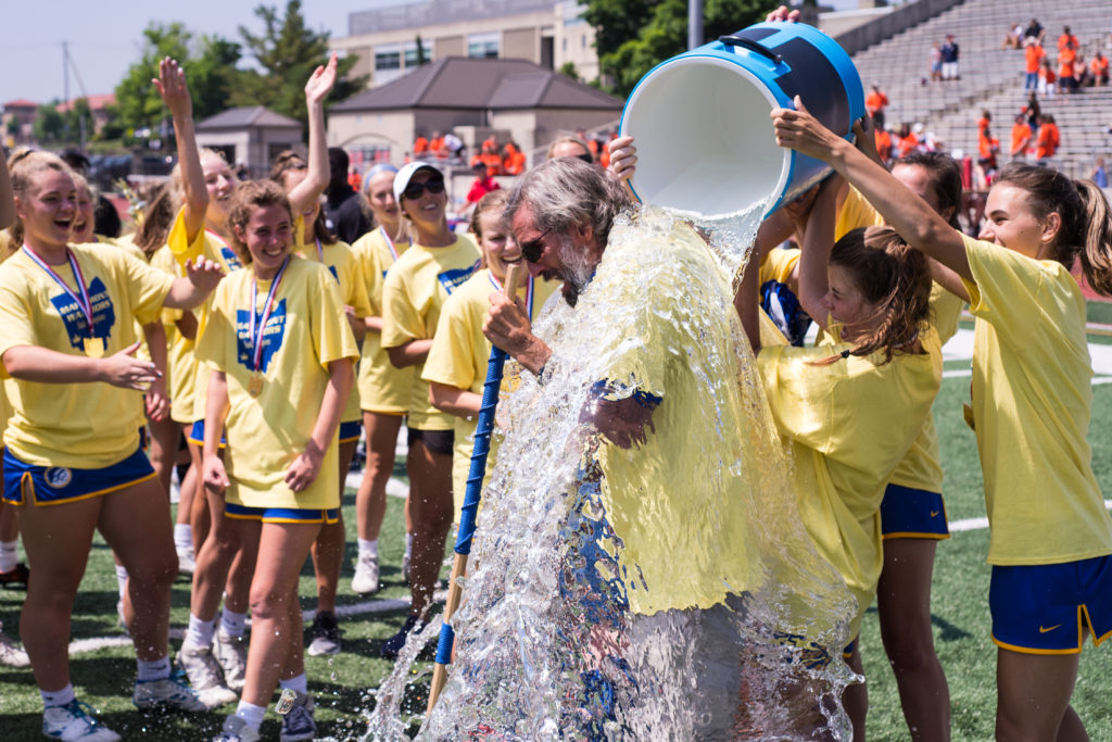 Coach Battling ALS Inspires Mariemont (OHIO) Girls to Rally for State Title