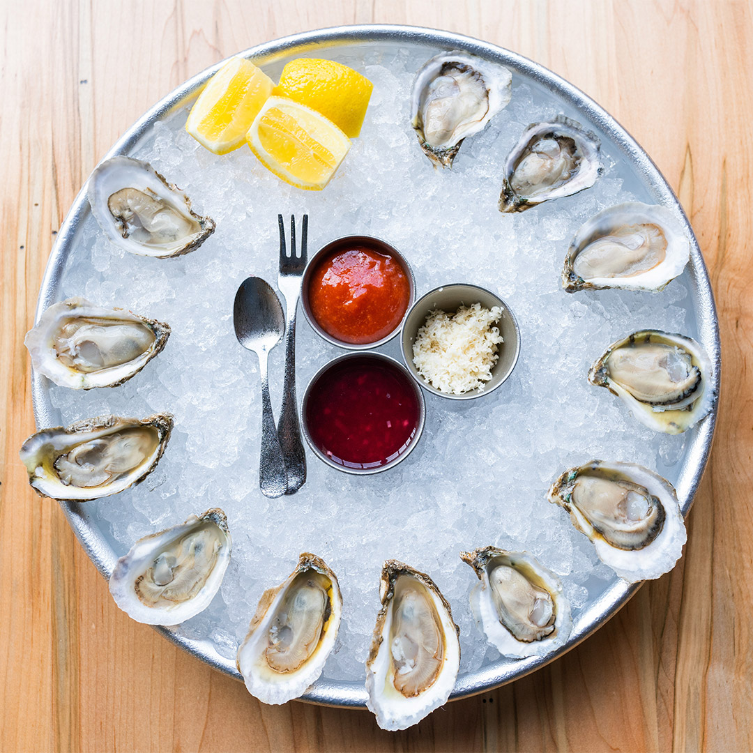 Raw NC Oysters