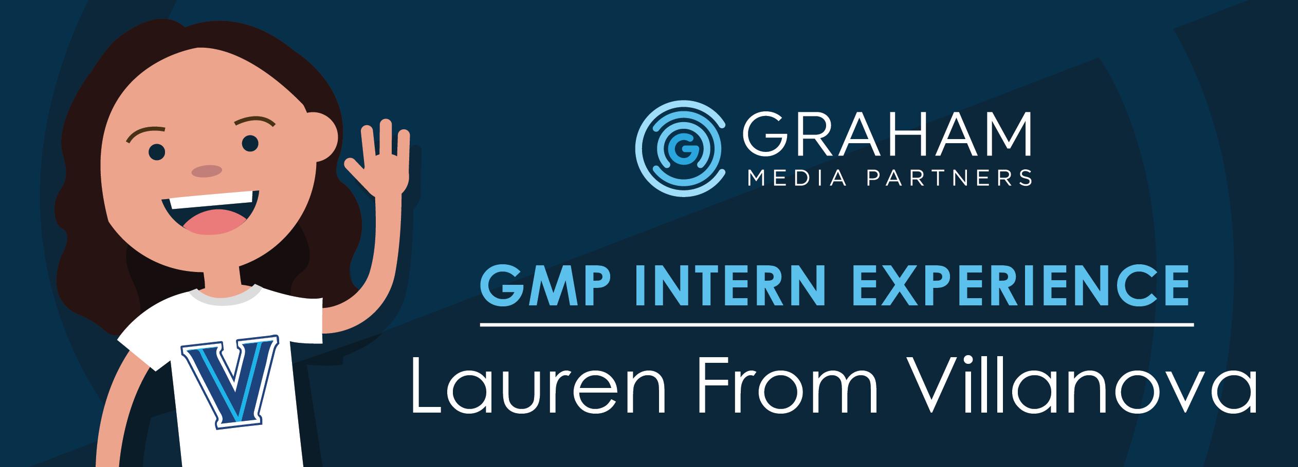 Intern Experience: Lauren from Villanova