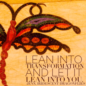 lean into transformation