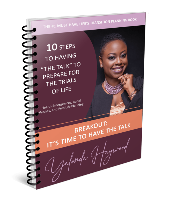Author Yalonda Haywood's Breakout Book