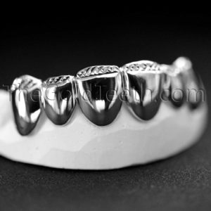 Top Silver grillz