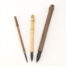 goat-synthetic blend set with bamboo cane handle