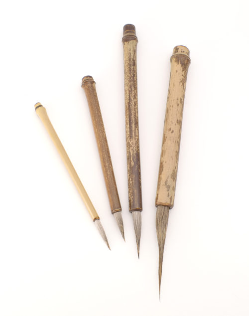 Elk bristle with bamboo cane handle