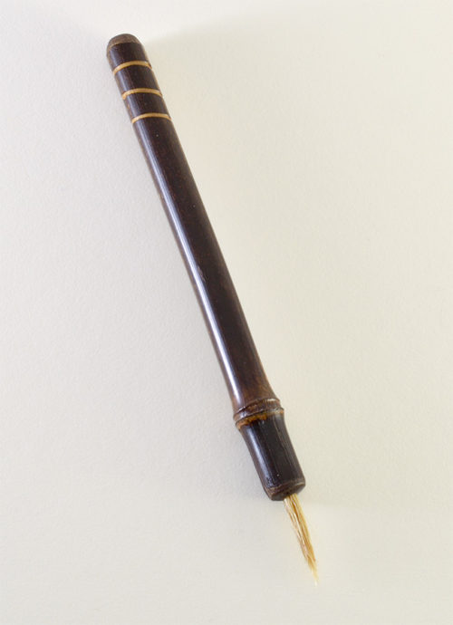 Boar Hair with bamboo cane handle