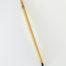 "1/2"" long Goat bristle brush with bamboo cane handle."