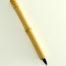 Medium Size Goat Synthetic blend brush with 3/4 inch bristle length and wangi bamboo handle.