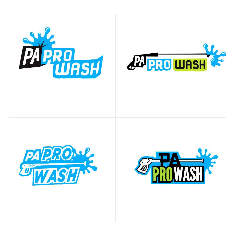 PA Pro Wash Logos