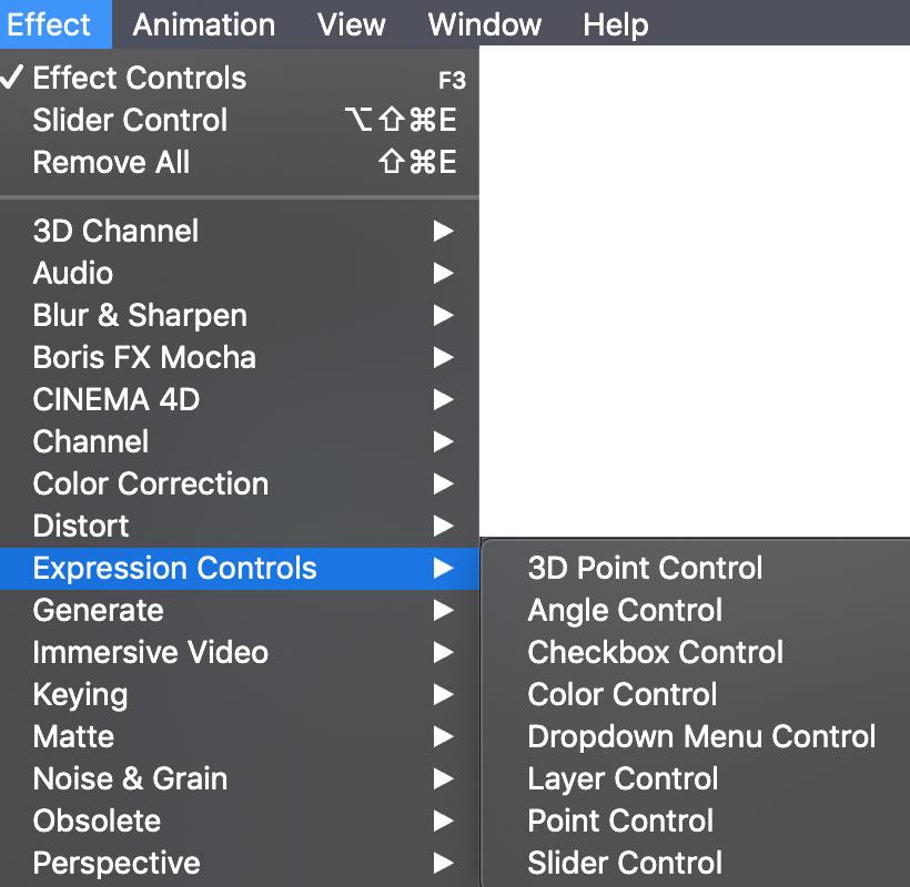 AE Expression Controls