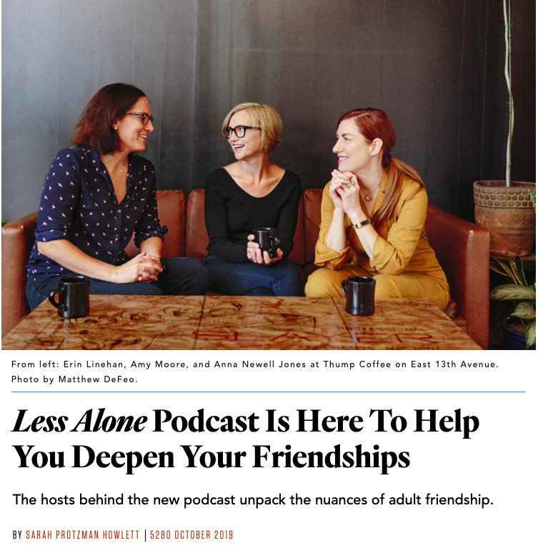 less alone denver podcasters 5280 magazine
