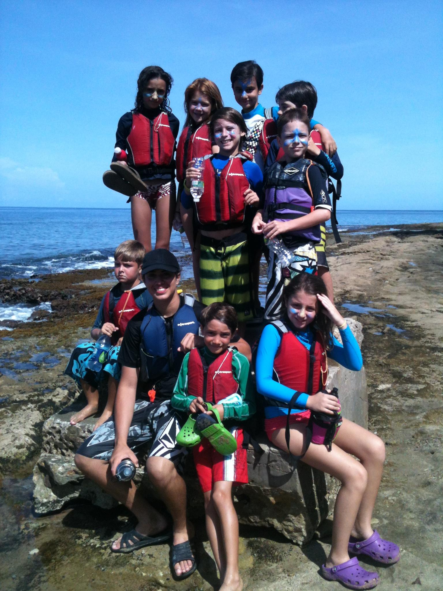 Visit to Steps at Tres Palmas Marine Reserve