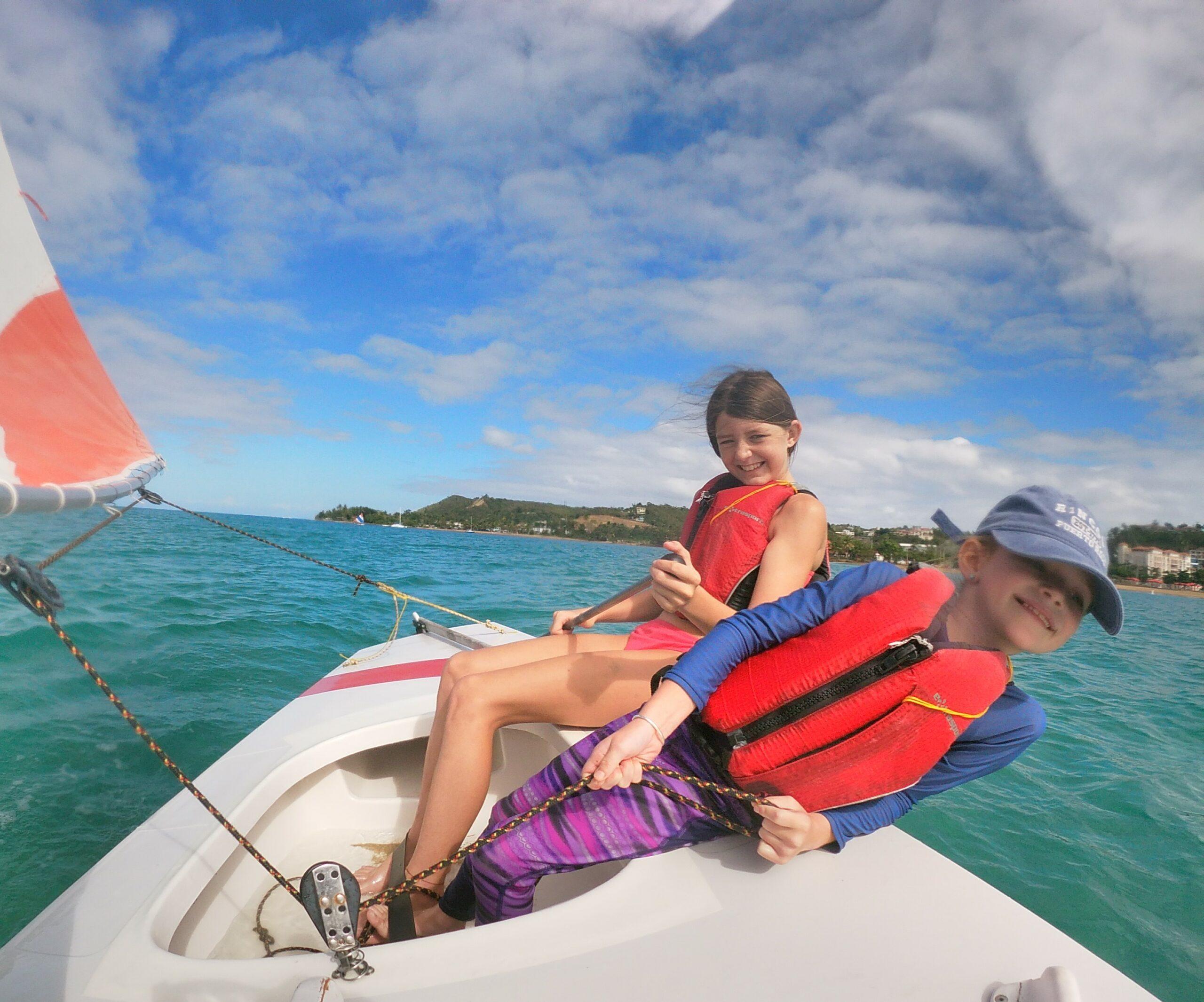 www.rinconsailing.com youth sailing camp