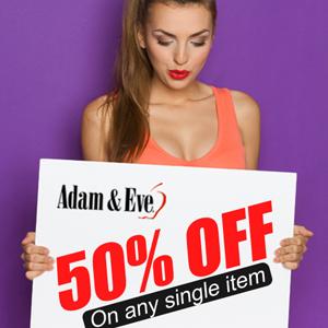 50 0ff, 50 percent, 50 discount, 50 percent discount, half off, sex toys discount, discount on sex toys