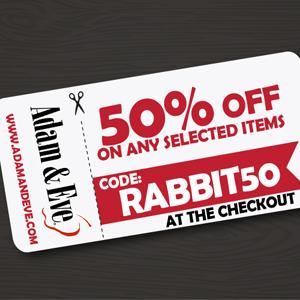 cheap adult sex toys, adam & eve coupon code, adam & eve coupon codes, A&E Fantasy Flex Vibrator, rabbit vibrator