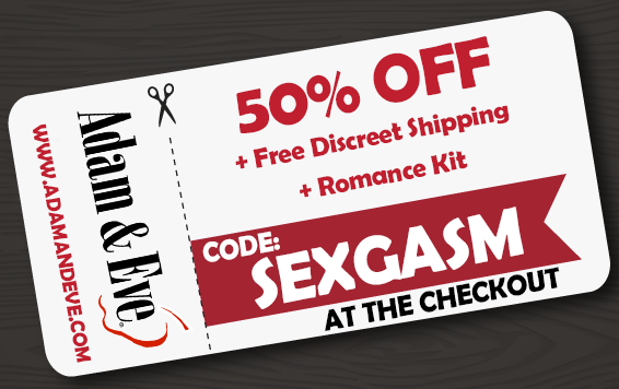 sexgasm, adam and eve coupon code, adam & eve, adameve.com