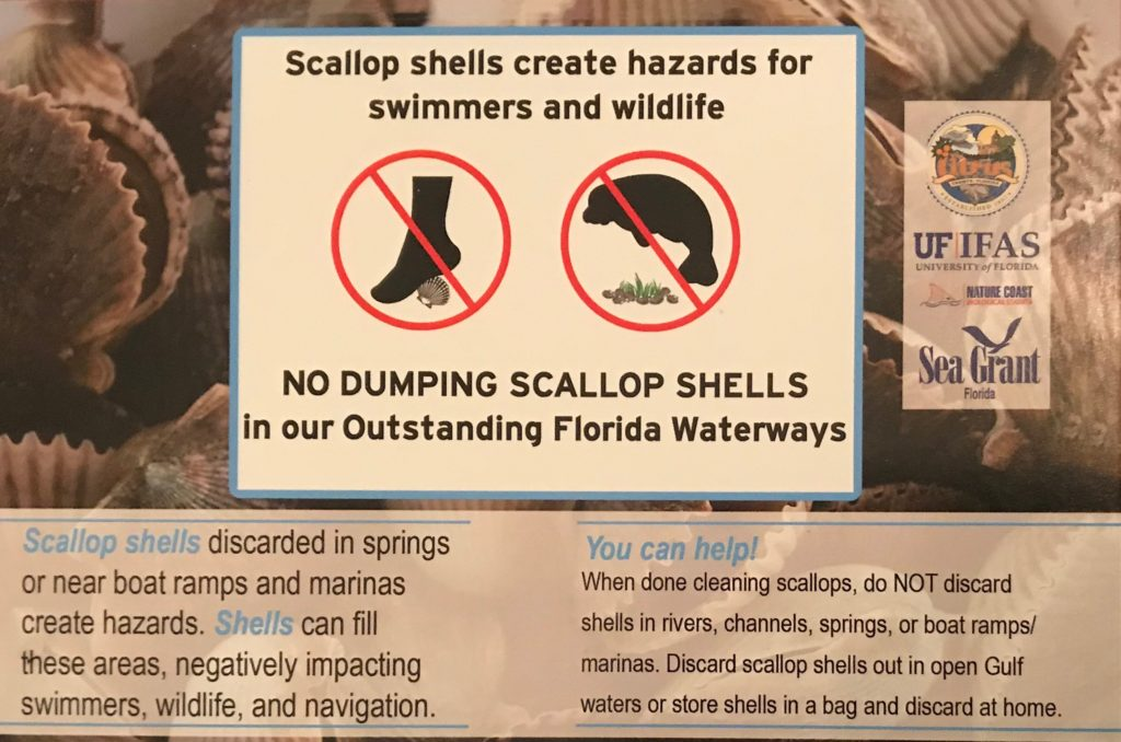 Don't dump Scallop Shells