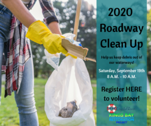 Click to volunteer for the 2020 roadway leanup