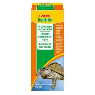 vitaminas para reptiles reptilin de la marca sera