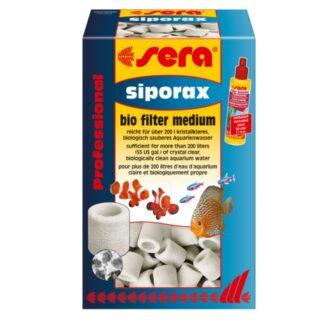 material filtrante biológico siporax, canutillos de cerámica de la marca sera